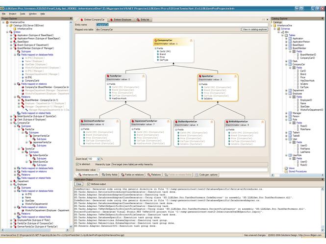 LLBLGen Pro Screenshot