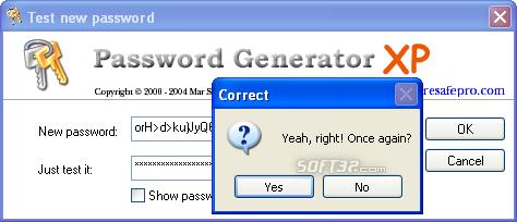 Mar Password Generator Screenshot 2