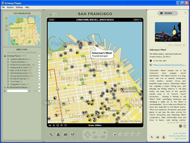 Schmap California Screenshot 3