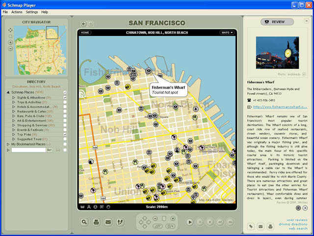 Schmap California Screenshot 1