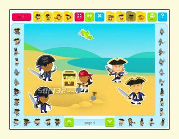 Sticker Book 5: Pirates Screenshot 3