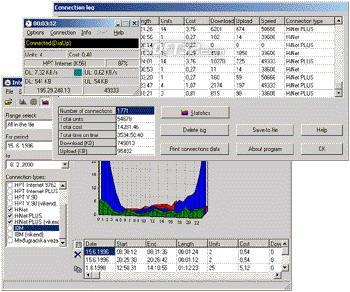 Blue Internet Monitor Screenshot 3