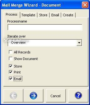 Mail Merge for Microsoft Access 2003 Screenshot 3