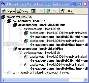 4TOPS Query Tree Editor for MS Access Screenshot 3