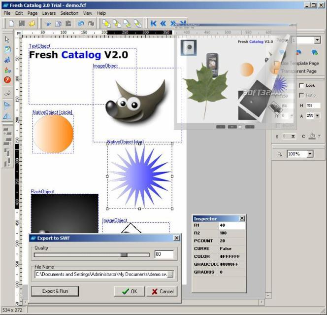 Fresh Flash Catalog Screenshot 3