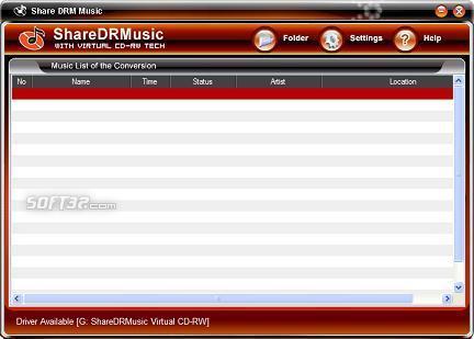 Share DRM Music M4P Converter Screenshot 3
