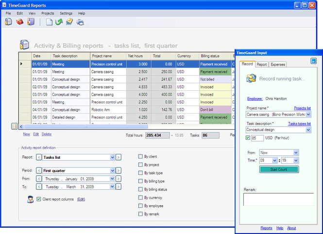 TimeGuard Network Screenshot 1