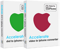 Accelerate DVD + Video to iPhone Screenshot