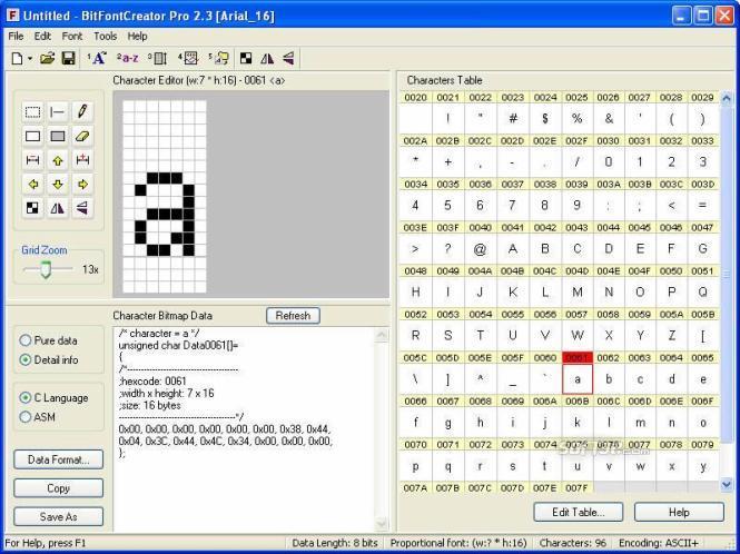 BitFontCreator Pro Screenshot 3