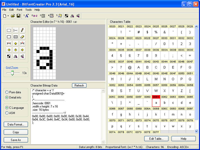 BitFontCreator Pro Screenshot
