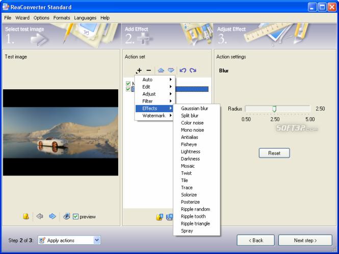 ReaConverter Screenshot 4