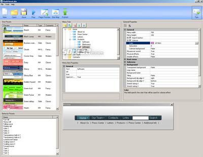 Flash Menu Labs Standard Edition Screenshot 2