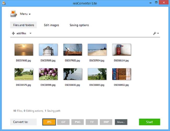 reaConverter Lite Screenshot 4