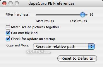 dupeGuru Picture Edition Screenshot 3