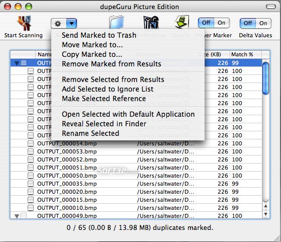 dupeGuru Picture Edition Screenshot 5