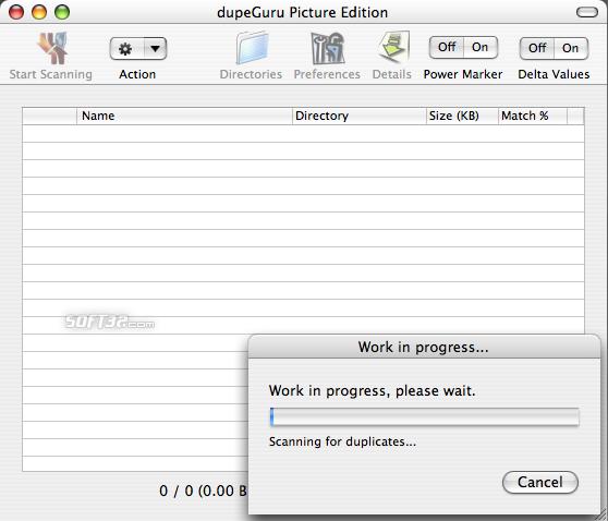 dupeGuru Picture Edition Screenshot 1