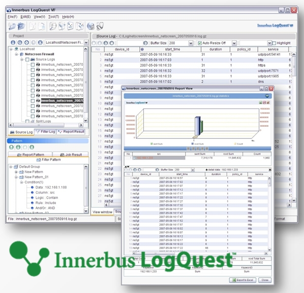 LogQuest VF Standard Edition Screenshot