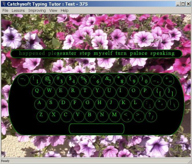 Catchysoft Typing Tutor Screenshot 2