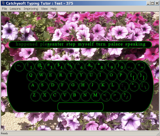 Catchysoft Typing Tutor Screenshot