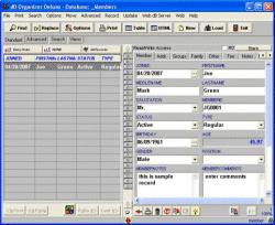 Member Organizer Pro Screenshot