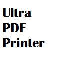 Ultra PDF Printer Screenshot