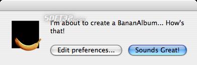BananAlbumCreator Screenshot 3