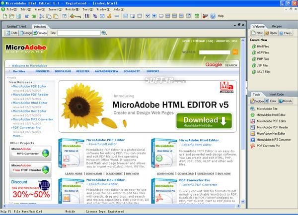 Abdio Html Editor Screenshot 3