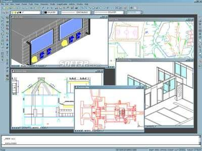 progeCAD 2009 Standard IntelliCAD Screenshot 3