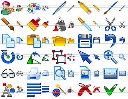 Design Icon Set Screenshot