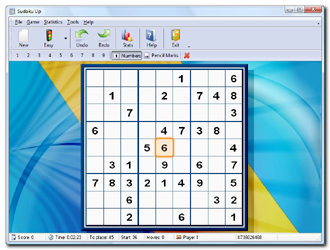 Sudoku Up 2009 Screenshot 2