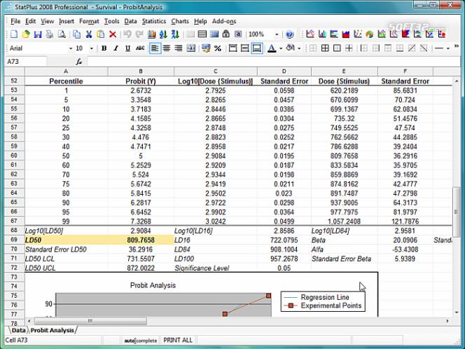 StatPlus 2009 Portable Screenshot 3