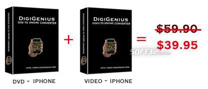 Digigenius DVD+video to iPhone Converter Screenshot 3