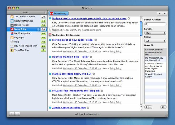 NewsLife Screenshot 1