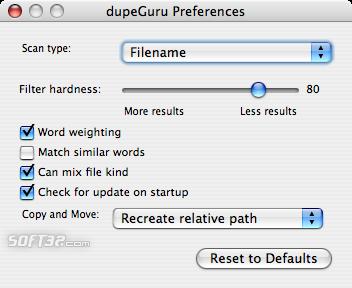 dupeGuru Screenshot 3