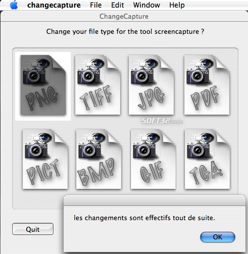 ChangeCapture Screenshot 2