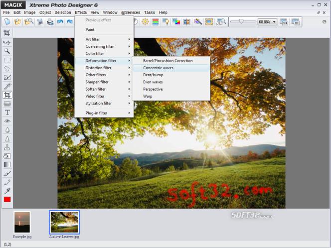 MAGIX Xtreme Photo Designer Screenshot 3