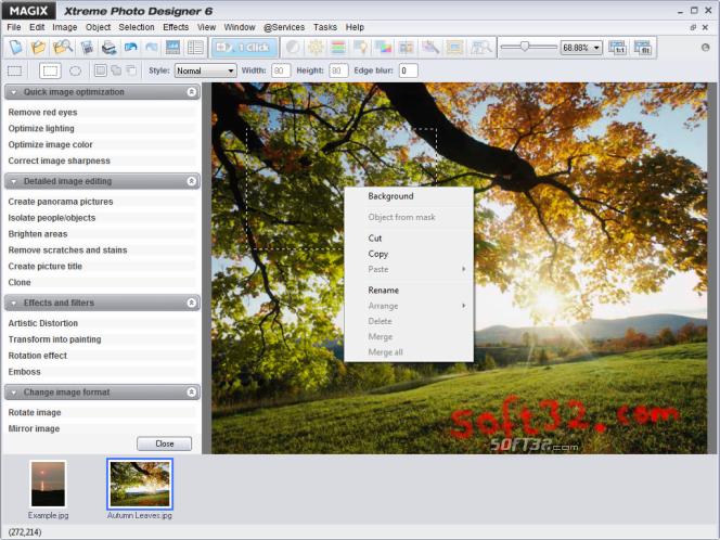 MAGIX Xtreme Photo Designer Screenshot 5
