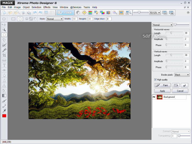 MAGIX Xtreme Photo Designer Screenshot 6
