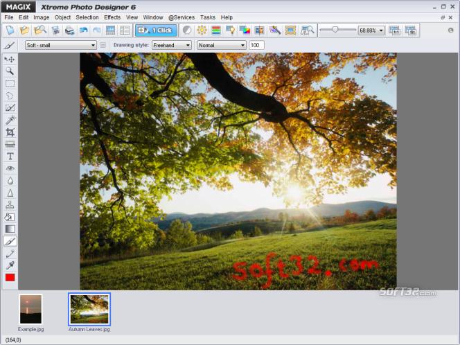MAGIX Xtreme Photo Designer Screenshot 2