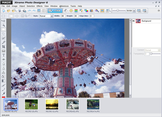 MAGIX Xtreme Photo Designer Screenshot