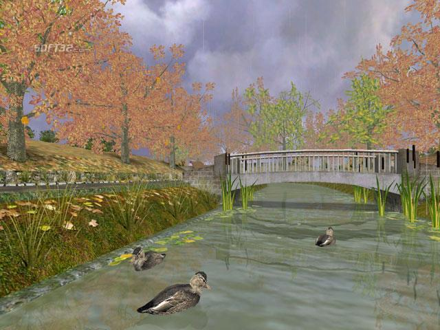 Autumn Time 3D Screensaver Screenshot 2