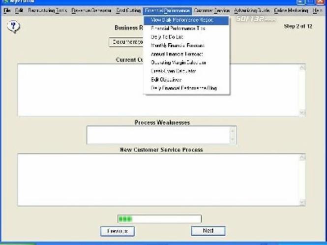 Business Restructuring Expert Screenshot 3