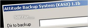 Attitude Backup System (KASX) Screenshot