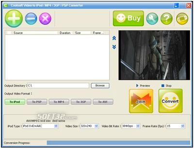 Coolsoft Video Converter Screenshot 3