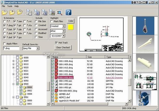 DwgGrid Screenshot 2