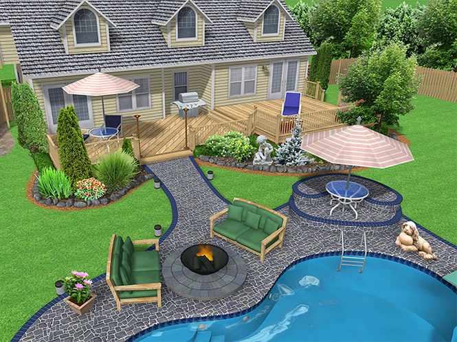 Realtime Landscaping Pro 3 Demo Screenshot 1