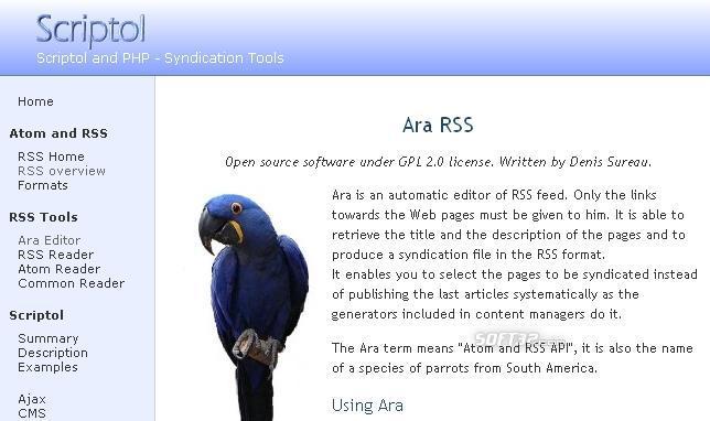 ARA Editor Screenshot 2