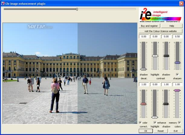 i2e image enhancement plug-in Screenshot 2