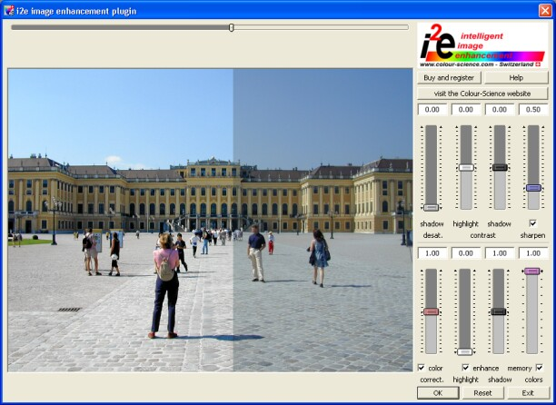 i2e image enhancement plug-in Screenshot