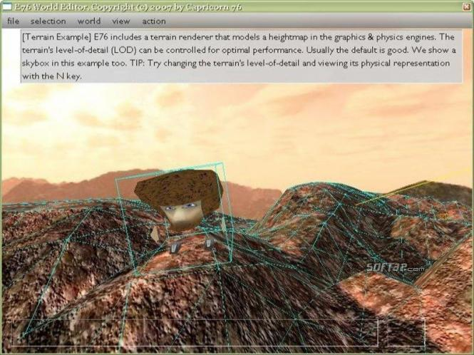 E76 game engine Screenshot 1